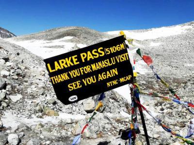 Larke – La Pass Trekking