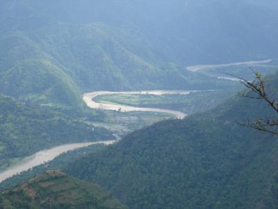 Tamor River to Raft