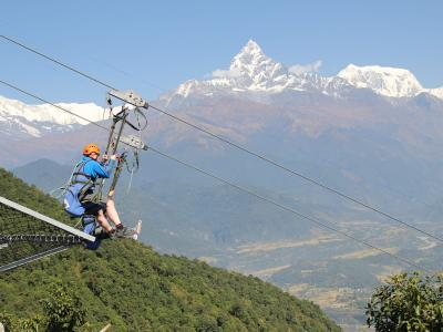 Zip Flyer Tour in Nepal
